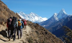 "Everest Base camp trek and hike is more than a mountain and the journey to its base camp is more than just a trek. Along a route dubbed by some as ""the steps to heaven,"" every bend in the trail provides another photo opportunity – beautiful forests, Sherpa villages sherpa cultures , glacial moraines, and foothills. For active adventurers not afraid to break a sweat, our full trekking support staff will bring you close to local cultures before opening a window to the top of the world."