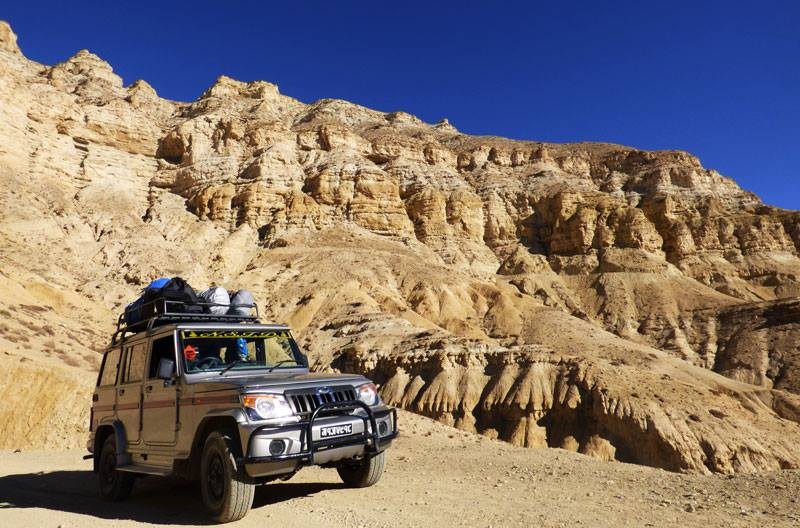 Jeep Drive Tour in Upper Mustang – Organized by Local company Kathmandu-Pokhara-Upper Mustang