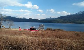 heli tour in rara lake.
