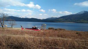heli tour in rara lake.